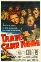 Three Came Home movie poster (1950) picture MOV_993645ec