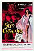 The She-Creature movie poster (1956) picture MOV_9939d260