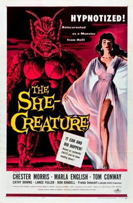 The She-Creature movie poster (1956) poster MOV_9939d260
