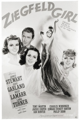 Ziegfeld Girl movie poster (1941) poster MOV_99550e9d