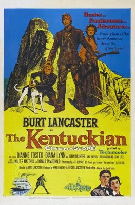 The Kentuckian movie poster (1955) poster MOV_99729f85