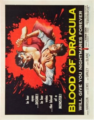 Blood of Dracula movie poster (1957) poster MOV_99a4f865
