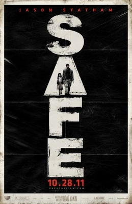 Safe movie poster (2011) poster MOV_99aaf9e6