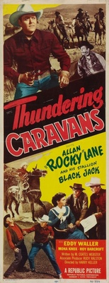 Thundering Caravans movie poster (1952) poster MOV_99c588e9