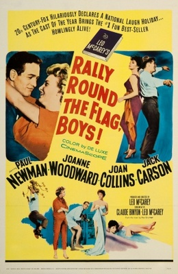 Rally 'Round the Flag, Boys! movie poster (1958) poster MOV_99ca2763