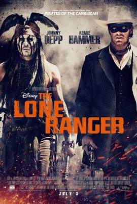 The Lone Ranger movie poster (2013) poster MOV_99d20359