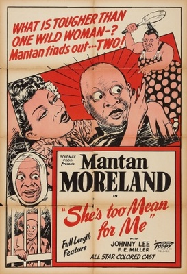 She's Too Mean for Me movie poster (1948) poster MOV_99e03166