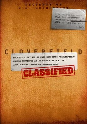 Cloverfield movie poster (2008) poster MOV_9a11fd05