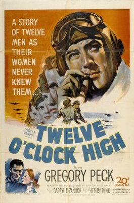 Twelve O'Clock High movie poster (1949) poster MOV_9a133a80