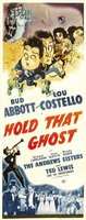 Hold That Ghost movie poster (1941) picture MOV_9a1930aa