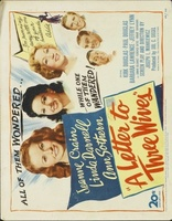 A Letter to Three Wives movie poster (1949) picture MOV_9a194edd