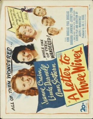 A Letter to Three Wives movie poster (1949) poster MOV_9a194edd