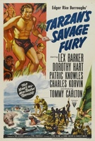 Tarzan's Savage Fury movie poster (1952) picture MOV_9a2268bf
