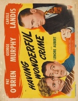 Having Wonderful Crime movie poster (1945) picture MOV_9a29cb82