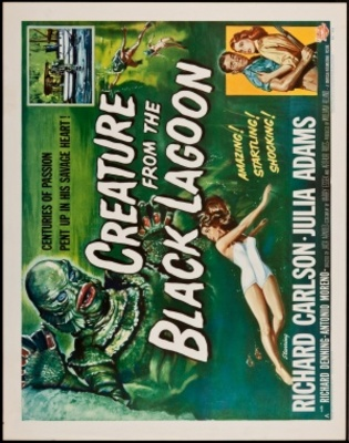 Creature from the Black Lagoon movie poster (1954) poster MOV_9a358249