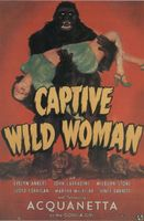 Captive Wild Woman movie poster (1943) picture MOV_9a58c28a