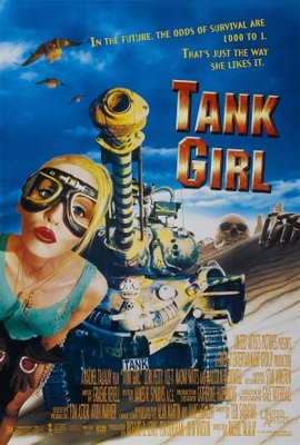 Tank Girl movie poster (1995) poster MOV_9a5b9d2b