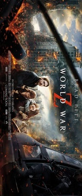 World War Z movie poster (2013) poster MOV_9a6cedde