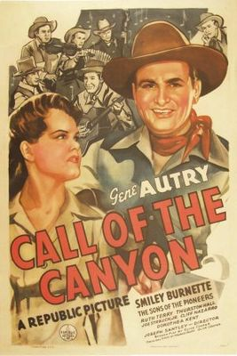 Call of the Canyon movie poster (1942) poster MOV_9a6ff80c
