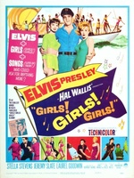Girls! Girls! Girls! movie poster (1962) picture MOV_9a727bdd
