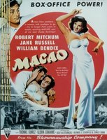 Macao movie poster (1952) picture MOV_9a8dce68