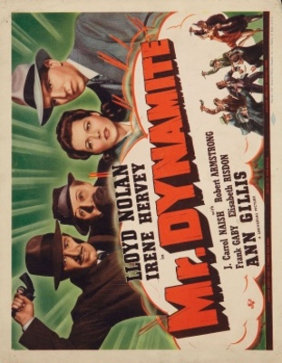 Mr. Dynamite movie poster (1941) poster MOV_9aa95808