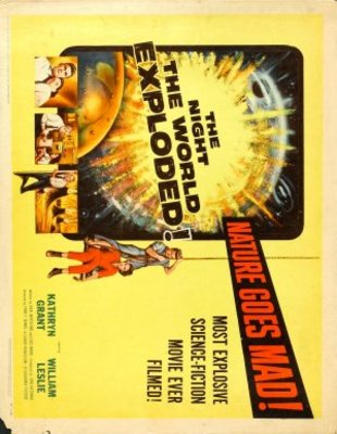 The Night the World Exploded movie poster (1957) poster MOV_9ab6630b