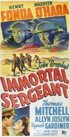 Immortal Sergeant movie poster (1943) picture MOV_9af0a960
