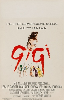 Gigi movie poster (1958) poster MOV_9b07019f