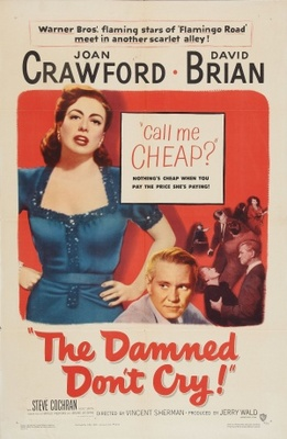 The Damned Don't Cry movie poster (1950) poster MOV_9b28e826