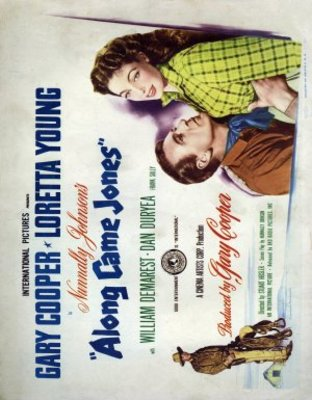 Along Came Jones movie poster (1945) poster MOV_9b2a1754