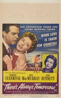 There's Always Tomorrow movie poster (1956) picture MOV_9b35030a
