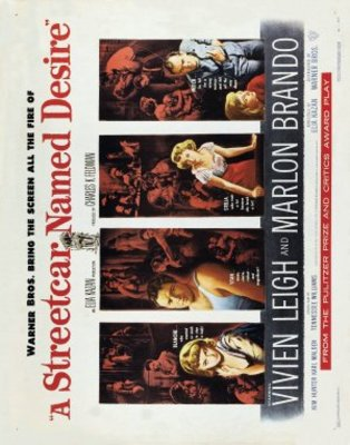 A Streetcar Named Desire movie poster (1951) poster MOV_9b35593e