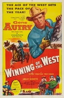 Winning of the West movie poster (1953) picture MOV_9b3a4756