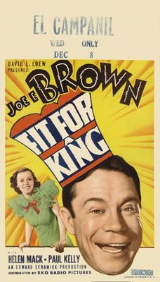 Fit for a King movie poster (1937) poster MOV_9b69ade5