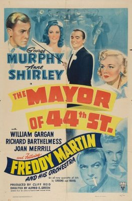 The Mayor of 44th Street movie poster (1942) poster MOV_9b779ea4