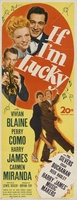 If I'm Lucky movie poster (1946) picture MOV_9b8088d3