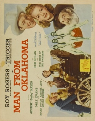 Man from Oklahoma movie poster (1945) poster MOV_9b89d1b8