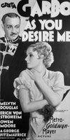 As You Desire Me movie poster (1932) picture MOV_9b8abbbf