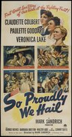 So Proudly We Hail! movie poster (1943) picture MOV_9b90506a