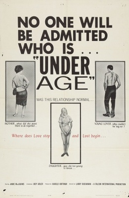 Under Age movie poster (1964) poster MOV_9b90ab0f