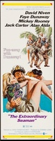 The Extraordinary Seaman movie poster (1969) picture MOV_f7e87e27