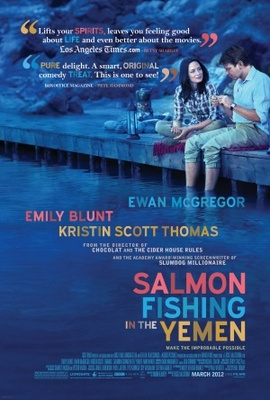 Salmon Fishing in the Yemen movie poster (2011) poster MOV_9ba00129