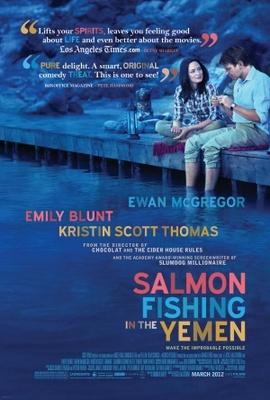 Salmon Fishing in the Yemen movie poster (2011) poster MOV_9ba00129