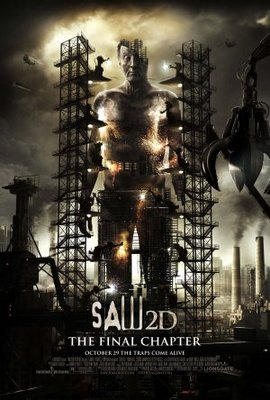 Saw 3D movie poster (2010) poster MOV_9ba3945d