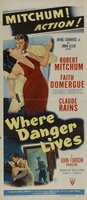 Where Danger Lives movie poster (1950) picture MOV_9bb156b3