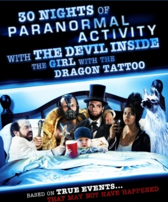 30 Nights of Paranormal Activity with the Devil Inside the Girl with the Dragon Tattoo movie poster (2012) poster MOV_9bb683cc