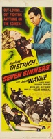 Seven Sinners movie poster (1940) picture MOV_8bf007db