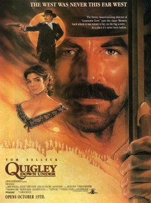 Quigley Down Under movie poster (1990) poster MOV_9bc38e57