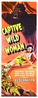 Captive Wild Woman movie poster (1943) picture MOV_9bebcd82